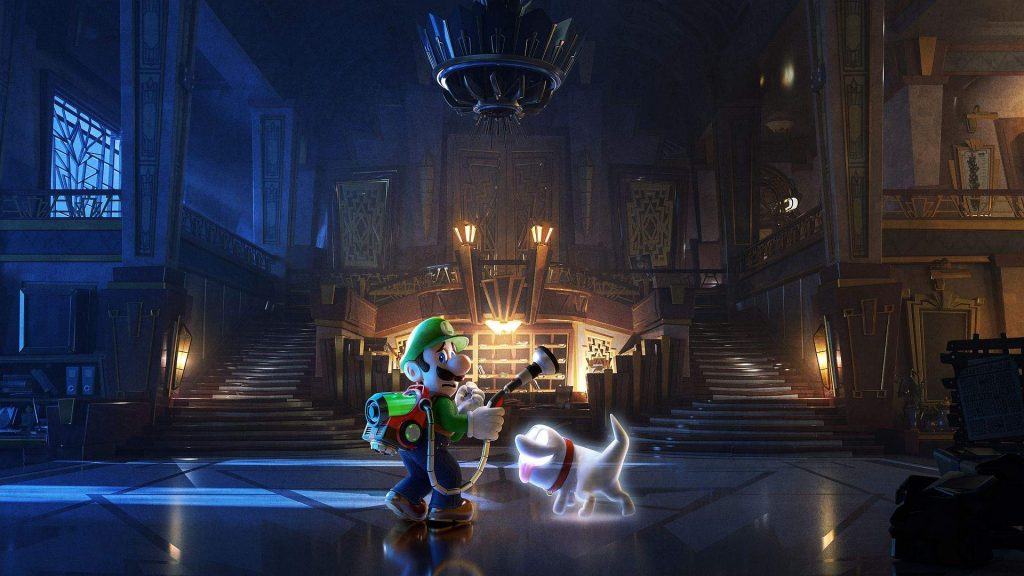 Luigi's Mansion 3 Horror games