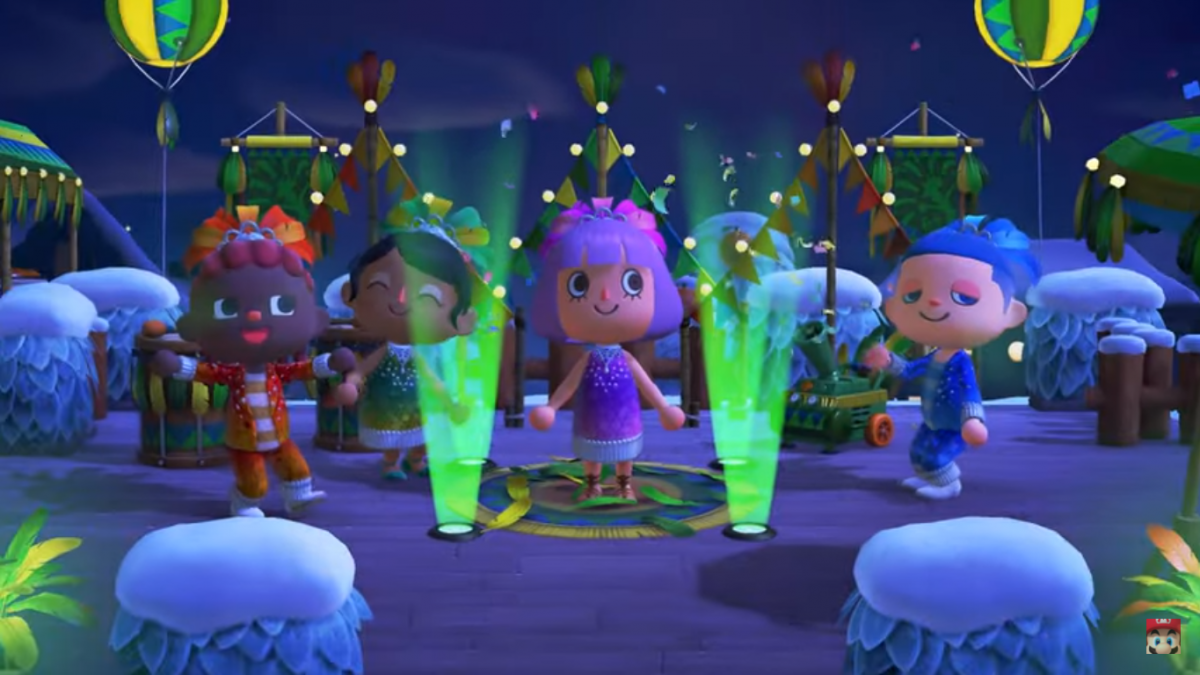 Animal Crossing Update Brings the Festivale to Your Island