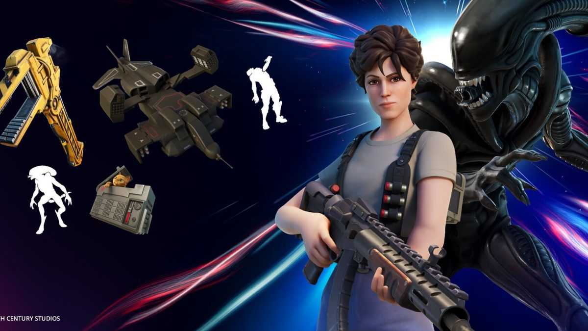 Ripley and the Xenomorph Join the Hunt in Fortnite