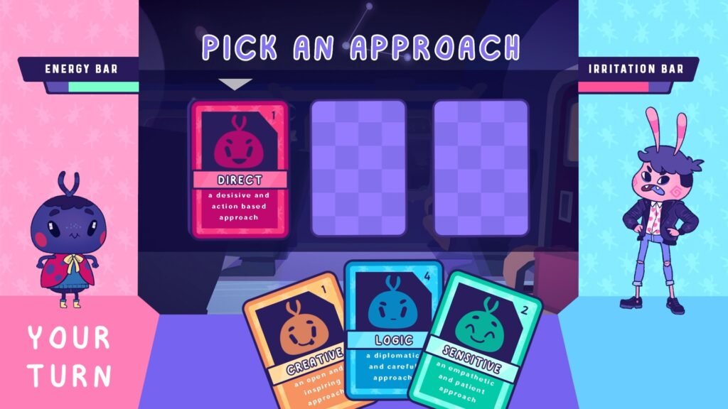 'Pick an Approach' in Tracks of Thought