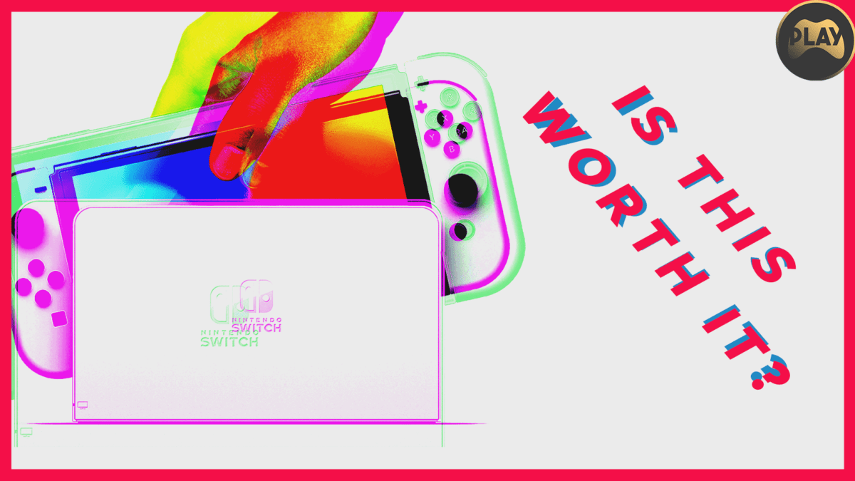 Nintendo Switch OLED: Is This Worth It?