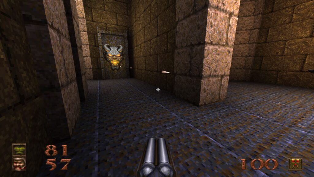 The graphics of Quake have been polished up while still retaining its original charm