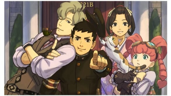 All prominent characters from The Great Ace Attorney Chronicles