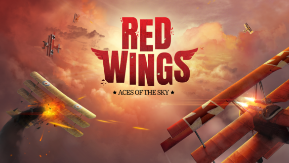 Red Wings logo and key art